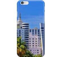 Miami Beach Art Deco Hotels iPhone Case/Skin