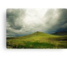 winding mountain road Canvas Print