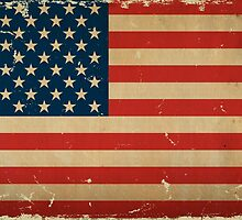 US Flage VINTAGE by Carolina Swagger