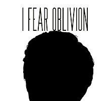 'I fear oblivion'- TFIOS by phabbyhowell