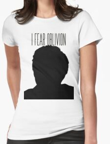 'I fear oblivion'- TFIOS Womens Fitted T-Shirt