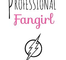 Professional Fangirl - The Flash by pinkpunk83