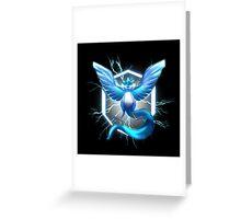 TEAM MYSTIC Greeting Card