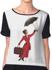 Mary Poppins Chiffon Top