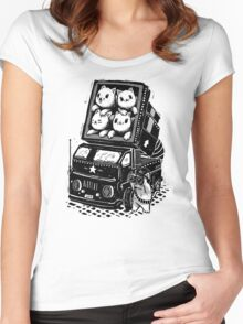 Cat Cats Women's Fitted Scoop T-Shirt