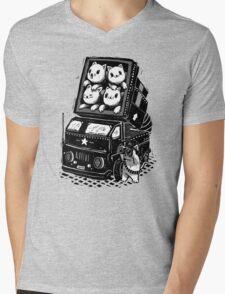 Rocket Cats - Vintage Style Mens V-Neck T-Shirt