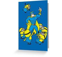 Banana Fans Greeting Card