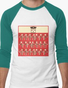 central forces, training day Men's Baseball ¾ T-Shirt