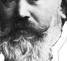 Johannes Brahms Face Sticker