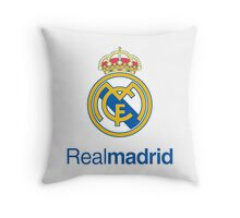 Real Madrid FC Throw Pillow