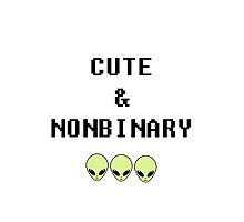 Cute & Nonbinary by cielphantom
