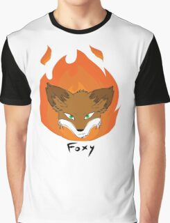 The Green-eyed Foxy Graphic T-Shirt