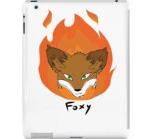 The Green-eyed Foxy iPad Case/Skin