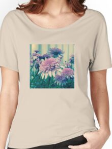 pretty pink flowers Women's Relaxed Fit T-Shirt