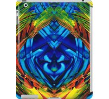 Colorful Abstract Art - Purrfection - By Sharon Cummings iPad Case/Skin
