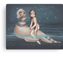 Loch and Ness Canvas Print