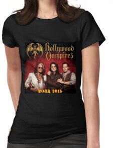 holywood vampires tour Womens Fitted T-Shirt