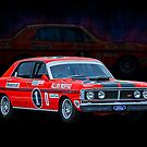 Allan Moffat Ford Falcon XY GTHO Phase III by Stuart Row