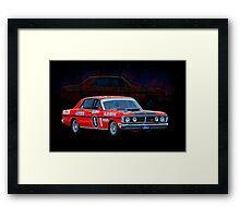 Allan Moffat Ford Falcon XY GTHO Phase III Framed Print