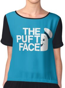 The Puft Face Chiffon Top