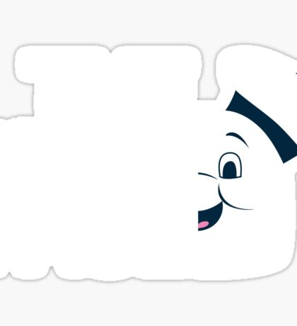 The Puft Face Sticker