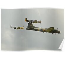Sally B and Escort Poster