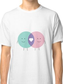 Venn diagram LOVE Classic T-Shirt