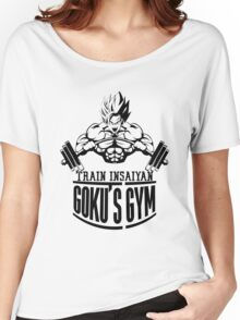 Train Insaiyan - Goku's Gym Women's Relaxed Fit T-Shirt