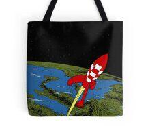 Tintin Rocket Tote Bag