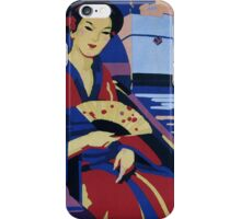 Vintage Orient Japan Travel iPhone Case/Skin