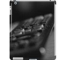 Television remote black and white iPad Case/Skin