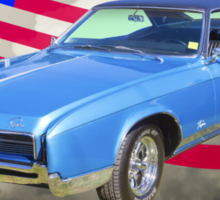 1967 Buick Riviera With United States Flag Sticker