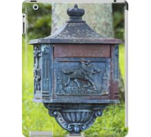 Letters from Dean Park iPad Case/Skin