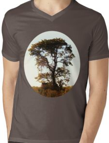 Tree of Houston Mens V-Neck T-Shirt