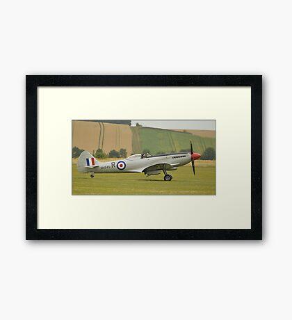 Supermarine Spitfire mk18 (SM845) Framed Print