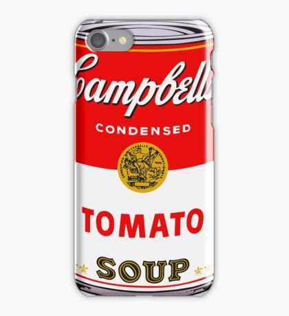 Campbell's Tomato Soup Can - Andy Warhol iPhone Case/Skin