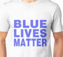 Blue Lives Matter (light) Unisex T-Shirt