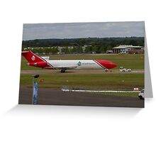 Boeing 727s For Cleaning Up Oil Spills  Greeting Card