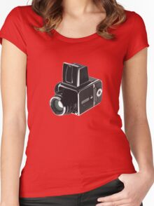 Hasselblad  Women's Fitted Scoop T-Shirt