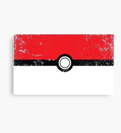 Poke´ball  Canvas Print
