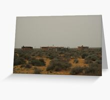 Moroccan Mansion Greeting Card