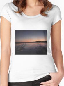 stars amongst the sun Women's Fitted Scoop T-Shirt