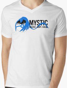 Team Mystic Toronto [1] [black text] Mens V-Neck T-Shirt