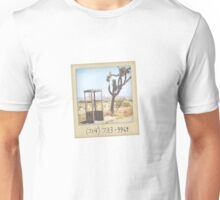 Mojave Phone Booth Unisex T-Shirt