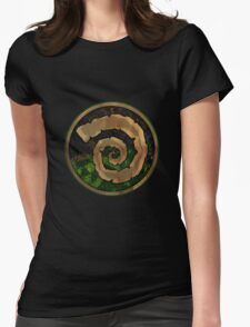 Apocalypse: W20 Book of the Wyrm  Womens Fitted T-Shirt