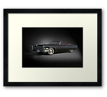 1968 Cadillac DeVille Convertible 'Studio' Framed Print