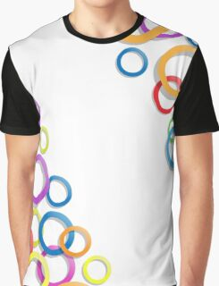Colourful rings Graphic T-Shirt