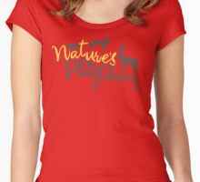 Nature's Plaything Women's Fitted Scoop T-Shirt