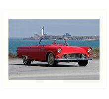 1956 Ford Thunderbird II Art Print