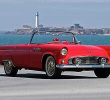 1956 Ford Thunderbird II by DaveKoontz